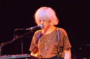 SOKO performs during The Official Cask + Drum Kick-Off Party at Workplay, Birmingham AL